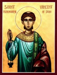 Saint Vincent, Deacon and Martyr